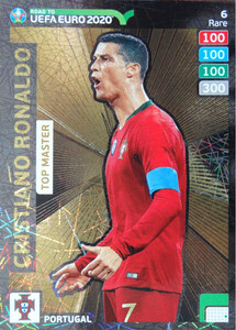 ROAD TO EURO 2020 RARE TOP MASTER RONALDO 6