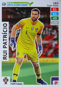 ROAD TO EURO 2020 TEAM MATE Rui Patricio 163