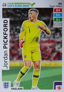 ROAD TO EURO 2020 TEAM MATE  Jordan Pickford 46