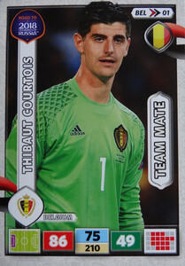 ROAD TO RUSSIA 2018 FIFA TEAM MATE BELGIA  COURTOIS  01