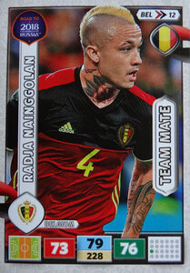 ROAD TO RUSSIA 2018 TEAM MATE BELGIA NAINGGOLAN 12