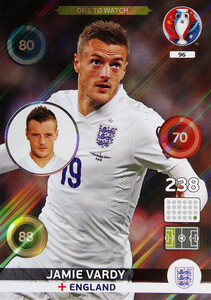 EURO 2016 ONE TO WATCH Jamie Vardy #96