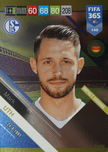 2019 FIFA 365 FANS IMPACT SIGNING  Mark Uth #140