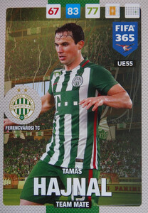 UPDATE 2017 FIFA 365 TEAM MATE TAMAS HAJNAL #55
