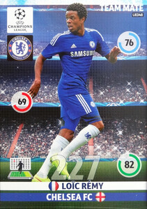 UPDATE CHAMPIONS LEAGUE® 2014/15 TEAM MATE Loic Remy #UE048