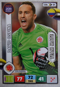 ROAD TO RUSSIA 2018 TEAM MATE KOLUMBIA OSPINA 01