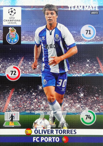 UPDATE CHAMPIONS LEAGUE® 2014/15 TEAM MATE Oliver Torres #UE072