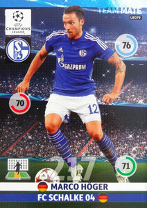 UPDATE CHAMPIONS LEAGUE® 2014/15 TEAM MATE Marco Höger #UE079