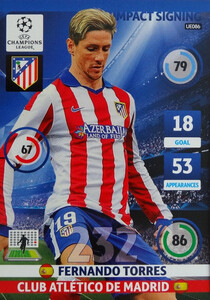 UPDATE CHAMPIONS LEAGUE® 2014/15 IMPACT SIGNING Fernando Torres #UE086