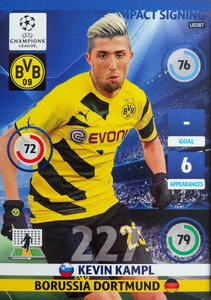 UPDATE CHAMPIONS LEAGUE® 2014/15 IMPACT SIGNING Kevin Kampl #UE087