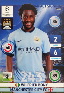 UPDATE CHAMPIONS LEAGUE® 2014/15 IMPACT SIGNING Wilfried Bony #UE090