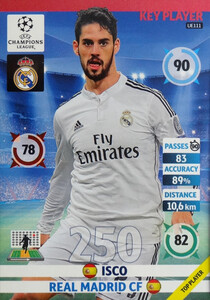 UPDATE CHAMPIONS LEAGUE® 2014/15 KEY PLAYER Isco #UE111
