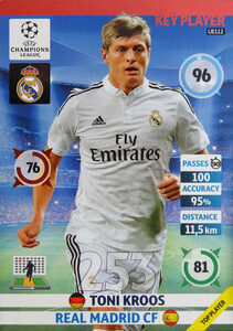 UPDATE CHAMPIONS LEAGUE® 2014/15 KEY PLAYER Toni Kroos #UE112