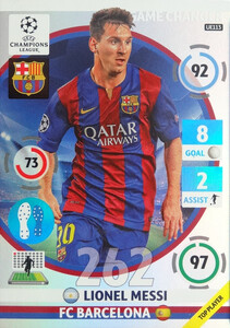 UPDATE CHAMPIONS LEAGUE® 2014/15 GAME CHANGER Lionel Messi #UE113