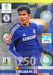 UPDATE CHAMPIONS LEAGUE® 2014/15 FANS' FAVOURITE Diego Costa #UE123