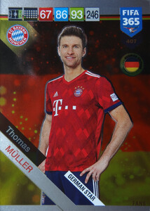 2019 FIFA 365 GERMAN STAR Thomas Muller #407