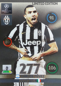 UPDATE CHAMPIONS LEAGUE® 2014/15 LIMITED Carlos Tevez