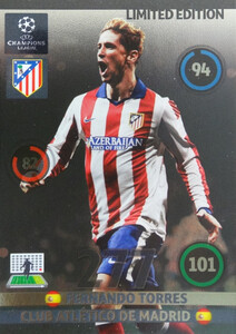 UPDATE CHAMPIONS LEAGUE® 2014/15 LIMITED Fernando Torres
