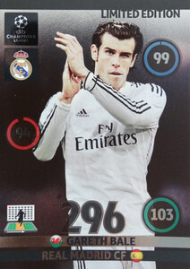 UPDATE CHAMPIONS LEAGUE® 2014/15 LIMITED Gareth Bale