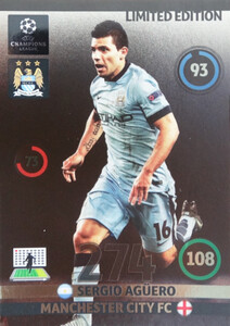UPDATE CHAMPIONS LEAGUE® 2014/15 LIMITED Sergio Aguero