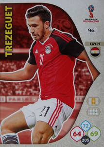 WORLD CUP RUSSIA 2018 EGIPT TEAM MATE TREZEGUET 96