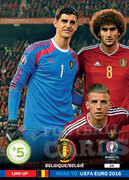 ROAD TO EURO 2016 LINE-UP Belgia #34