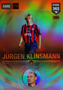 2017 FIFA 365 LEGENDS Jürgen Klinsmann #9