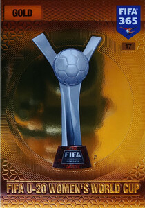 2017 FIFA 365 TROPHIES FIFA U-20 Women's World Cup #17