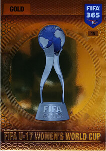2017 FIFA 365 TROPHIES FIFA U-17 Women's World Cup #18