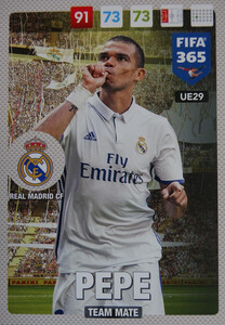 UPDATE 2017 FIFA 365 TEAM MATE 	Pepe #29