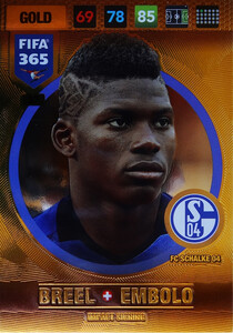 2017 FIFA 365 IMPACT SIGNING Breel Embolo #37