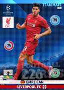2014/15 CHAMPIONS LEAGUE® TEAM MATE Emre Can #156