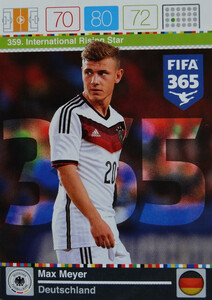 2016 FIFA 365 INTERNATIONAL RISING STAR Max Meyer #359