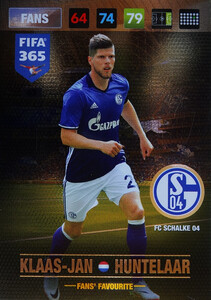 2017 FIFA 365 FANS' FAVOURITE  Klaas-Jan Huntelaar  #63