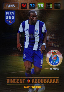 2017 FIFA 365 FANS' FAVOURITE  Vincent Aboubakar #77