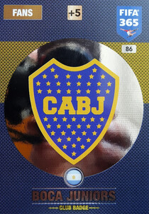 2017 FIFA 365 CLUB LOGO Boca Juniors #86