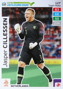 ROAD TO EURO 2020 TEAM MATE  Jasper Cillessen 127
