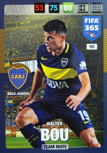 2017 FIFA 365 TEAM MATE Walter Bou #90
