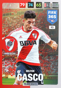 2017 FIFA 365 TEAM MATE Milton Casco #93