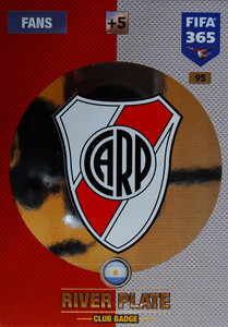2017 FIFA 365 CLUB LOGO River Plate #95