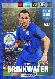 2017 FIFA 365 TEAM MATE Danny Drinkwater #123