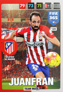 2017 FIFA 365 TEAM MATE Juanfran #128