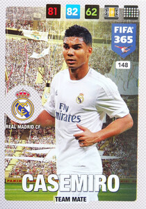 2017 FIFA 365 TEAM MATE Casemiro #148