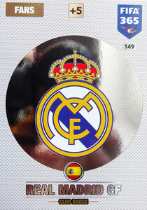 2017 FIFA 365 CLUB LOGO Real Madrid CF #149