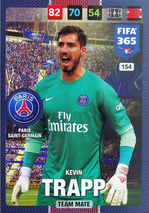 2017 FIFA 365 TEAM MATE Kevin Trapp #154