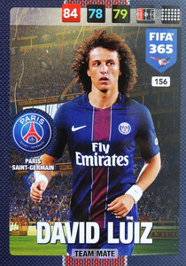 2017 FIFA 365 TEAM MATE David Luiz #156