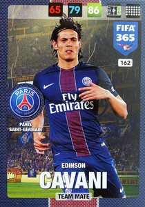 2017 FIFA 365 TEAM MATE  Edinson Cavani #162