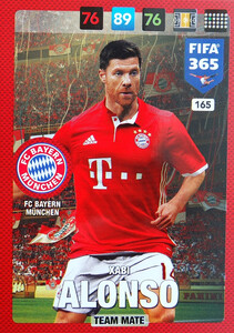 2017 FIFA 365 TEAM MATE Xabi Alonso #165