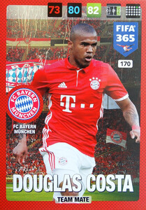 2017 FIFA 365 TEAM MATE Douglas Costa #170