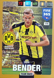 2017 FIFA 365 TEAM MATE Sven Bender #175